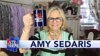 Amy Sedaris Breaks Out The Craft Bin And Catches Up With Stephen Colbert