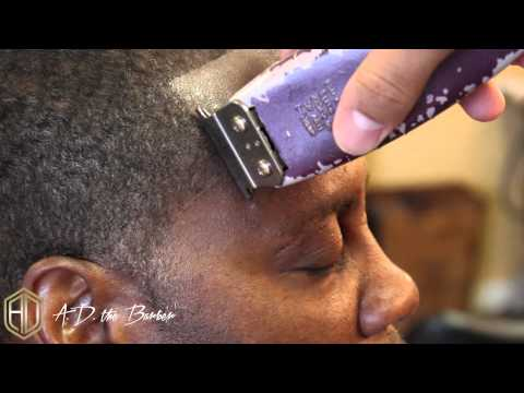 CRISPY LINE UP STEP BY STEP - BARBERING TUTORIAL
