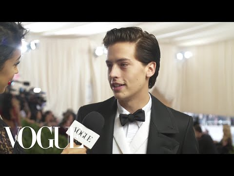 Cole Sprouse on Interning at the Met and His Artistic Aspirations | Met Gala 2018 With Liza Koshy