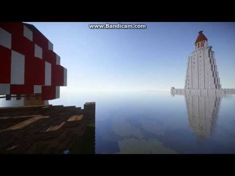 the lighthouse of Alexandria minecraft