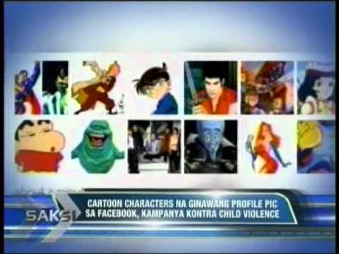 Cartoon Character profile pictures on Facebook