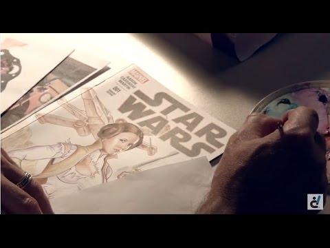 Digital Media Arts College Faculty Spotlight: Comic Book Illustrator Mark Sparacio