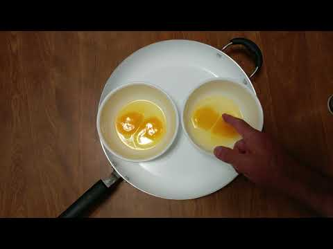 HOW TO COOK EGGS IN BOWLS FOR HOMEMADE Mc MUFFINS OR BURGERS