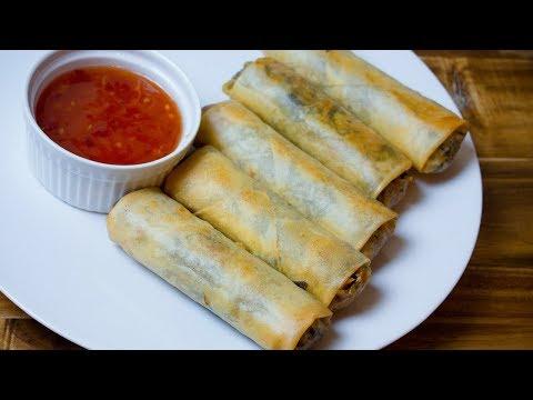 Vegetarian Egg Rolls - How to Make Vegetarian Spring Rolls