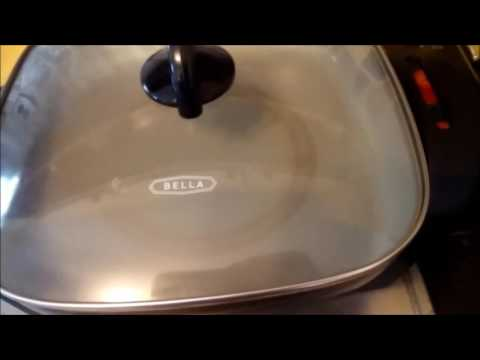Review - Bella electric skillet from Walmart