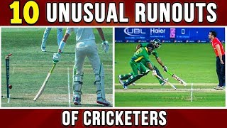 10 Unusual Runouts of Cricketers | Simbly Chumma