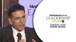 'Bollywood is both loving & ruthless': Akshay Kumar I HT Leadership Studio