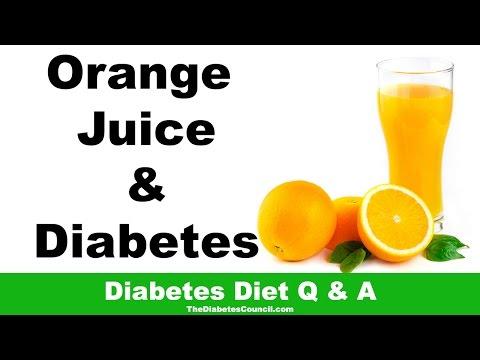 Is Orange Juice Good For Diabetes?