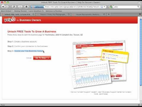 How to Unlock Your Business Listing on Yelp Tutorial