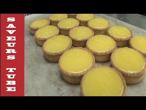 How to make lemon tart the french way with Julien from Saveurs in Dartmouth uk.