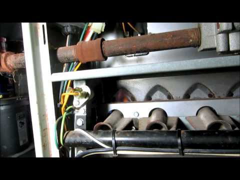 called to check gas furnace heat exchanger ,second opinion