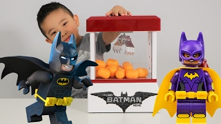 The Lego Batman Movie Claw Machine Surprise Eggs Blind Bag Challenge Fun With Ckn Toys
