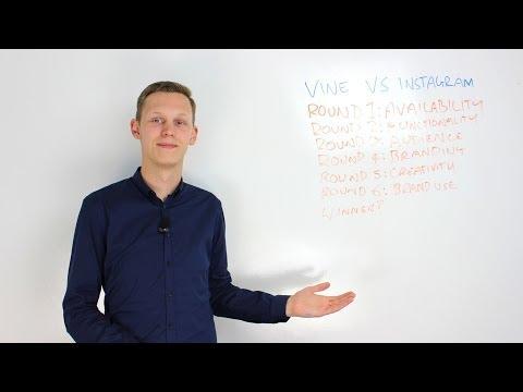 Video App Comparison: Vine vs Instagram Video