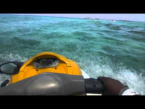 Jet Skiing with Google Glass