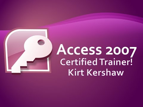 Access 2007: Publish Database To SharePoint