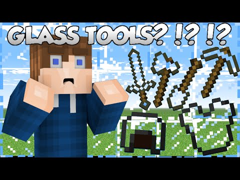 Why Glass Tools Don't Exist - Minecraft
