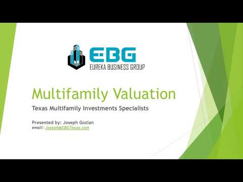 Multifamily Valuation - How to determine the value of a multifamily property