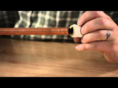 How to Cap a Copper Plumbing Line : Plumbing Help