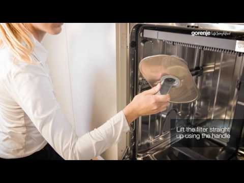 Gorenje SmartFlex Tips&Tricks: How to clean dishwasher filter and spray arms