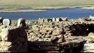 Заброшенный рыбацкий поселок Урга (Узбекистан). Озеро Судочье. Плато Устюрт.