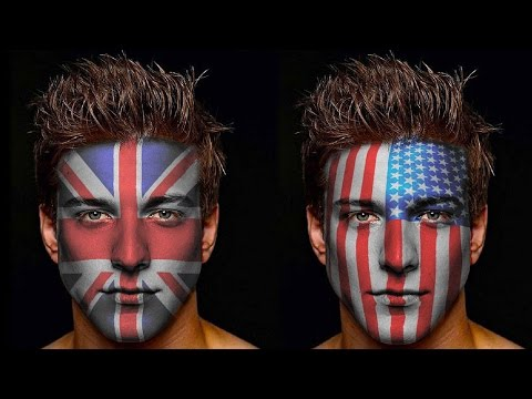 How to Paint Graphics onto a Face Face painting effect