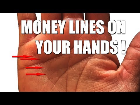 Money Lines on the Palm of your Hands !