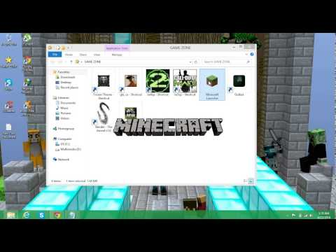 How to change your skin in Minecraft Team Extreme 1.7.2 - 1.7.4