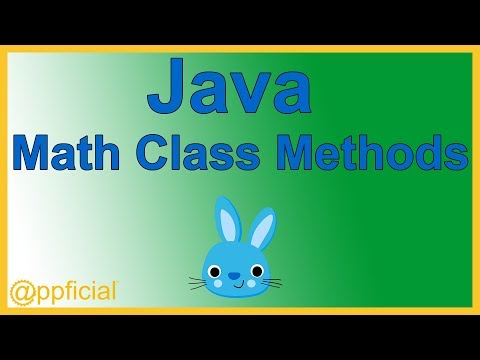 Java Math Class Methods - Examples of Pow and Sqrt - Java Tutorial - Appficial