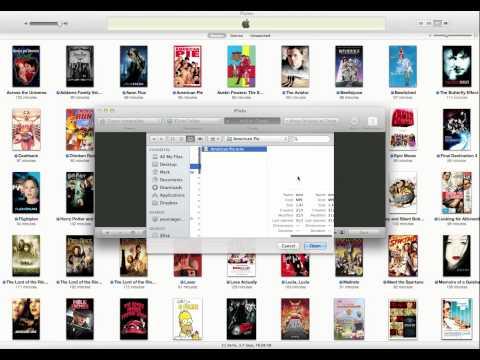 Rip DVDs to iTunes (Mac OS X)