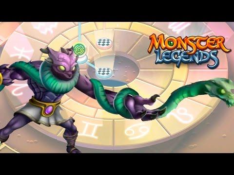Ophiuchus Zodiac Maze Island Monster Legends