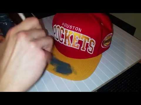 Custom mitchell & ness snapback / cap   how to dye mesh / material