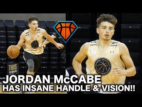 Jordan McCabe Has RIDICULOUS Handle & Vision!! | NBPA Top100 Highlights