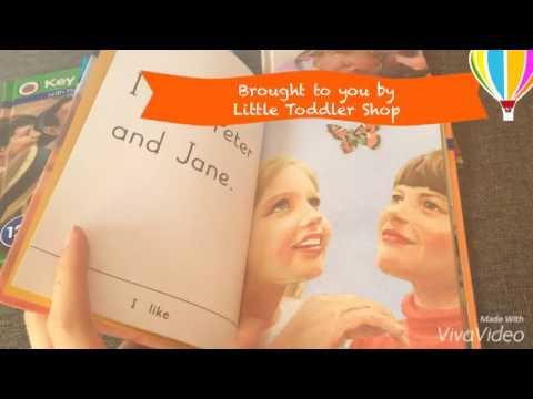 Sneak Peak of Peter and Jane Key Words Reading Books