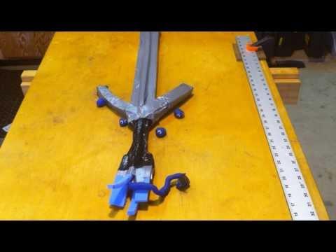How to make a foam sword