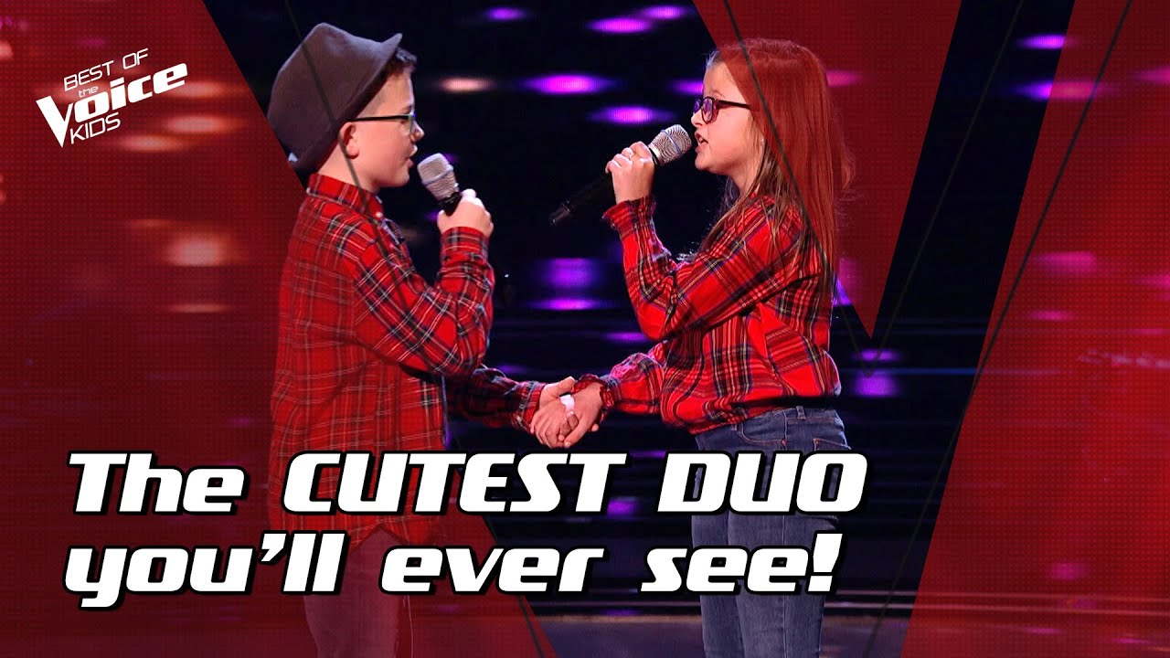 """Duo Alfie and Eva sing """"Photograph"""" by Ed Sheeran 