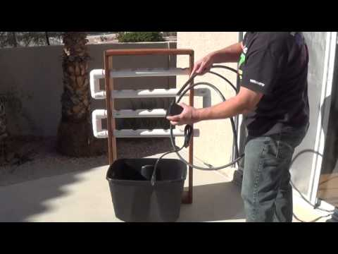 Build a NFT Hydroponic System