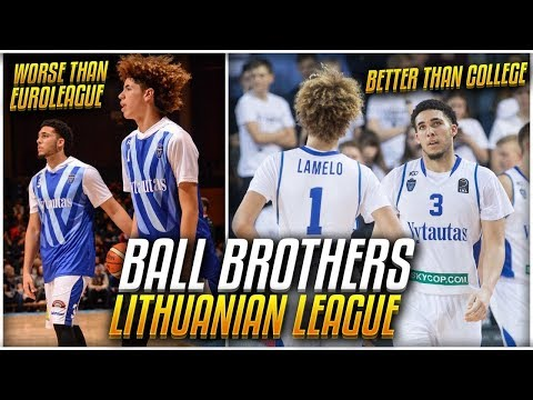 How GOOD Is The BALL BROTHERS League In Lithuania ACTUALLY?