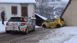 Rallye Monte Carlo 2018 day 3 ES 9 snow and snow