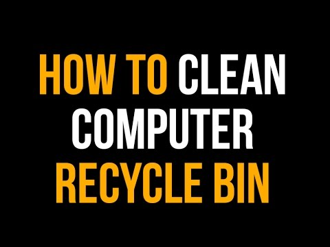 How to Clean your Recycle Bin
