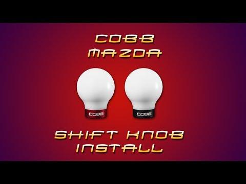 COBB Mazda Shift Knob Install Video