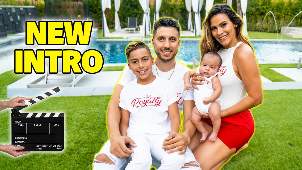 THE ROYALTY FAMILY'S New INTRO VIDEO W/ Baby Milan!   The Royalty Family