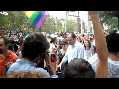 First Day of Marriage Equality In NYC