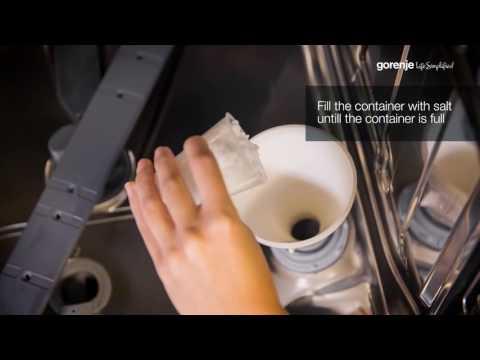 Gorenje SmartFlex Tips&Tricks: How to fill dishwasher salt