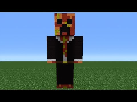 Minecraft Tutorial: How To Make A TBNRfrags Statue