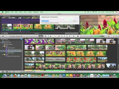iMovie 09 - Stabilizing a Clip (24)