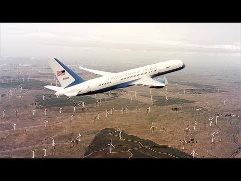 Most Awesome View Of Boeing C-32 (Air Force Two) You'll See Today