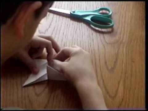 How to a make paper-throwing star