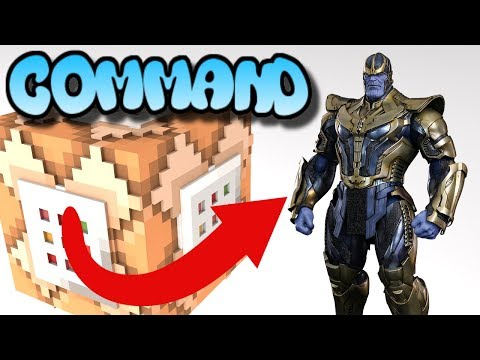 Command Block Tutorial | How To Make Thanos Commands (Minecraft Xbox One/MCPE/Bedrock Edition)