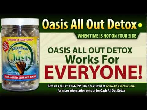 Seven Day Detox In 7 Days Oasis All Out Detox Kit Capsules