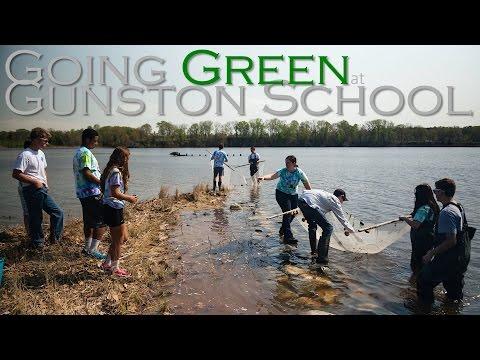 Going Green at Gunston School